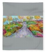 The Road Home Fleece Blanket