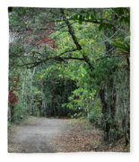 The Road Less Traveled Fleece Blanket