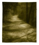 The Road To . . .  Fleece Blanket