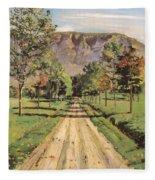 The Road To Evordes Fleece Blanket