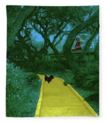 The Road To Oz Fleece Blanket