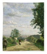 The Road To Sevres Fleece Blanket