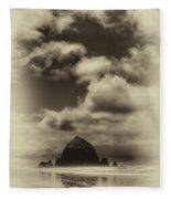 The Rock Of Paradise Fleece Blanket