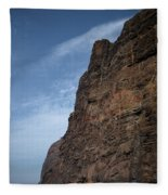 The Rocks Of Los Gigantes 2 Fleece Blanket