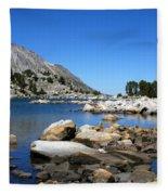 The Rocks Of Treasure Lake Fleece Blanket
