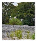 The Rocky Limestone Climb Fleece Blanket