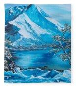 The Rocky Mountains  Fleece Blanket