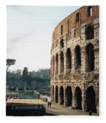 The Roman Colosseum Fleece Blanket