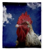 The Rooster Fleece Blanket