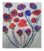 The Rose Series Fleece Blanket
