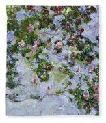 The Roses Fleece Blanket