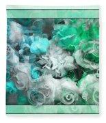 The Roses Of Josephine  Fleece Blanket