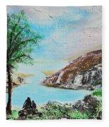 The Rowan Tree Fleece Blanket