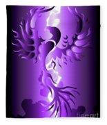 The Royal Phoenix Fleece Blanket