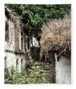 The Ruined Cottage Fleece Blanket