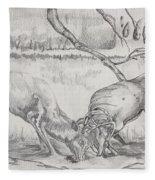 The Rut Fleece Blanket