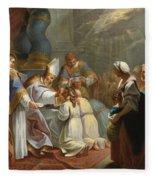 The Sacrament Of Confirmation Fleece Blanket
