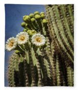 The Saguaro Cactus  Fleece Blanket