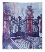 The Sant Pau Gates Fleece Blanket