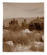 The Scenic Route Fleece Blanket
