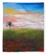 The Scented Sky Fleece Blanket