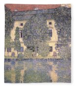 The Schloss Kammer On The Attersee IIi Fleece Blanket