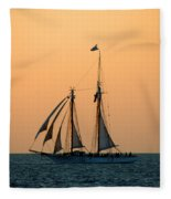 The Schooner America Fleece Blanket