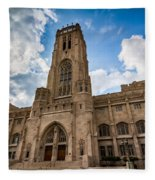 The Scottish Rite Cathedral - Indianapolis Fleece Blanket