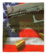 The Second Amendment Fleece Blanket