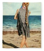 The Secret Beauty - La Belleza Secreta Fleece Blanket