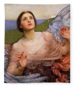 The Sense Of Sight By Annie Swynnerton  Fleece Blanket