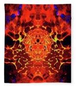 The Serpents Head Fleece Blanket