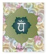 The Seven Chakras Fleece Blanket