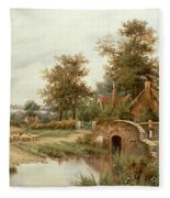 The Sheep Drover Fleece Blanket
