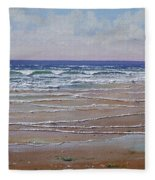 The Shell Collector Fleece Blanket