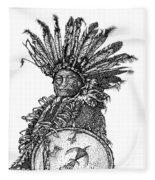 The Shield Fleece Blanket