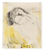 The Shulamite  Fleece Blanket