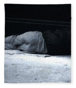The Sidewalks Of New York Fleece Blanket