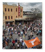 The Sights And Sounds Of Sxsw Are Enormous From 6th Street As Thousands Of Revelers Fill The Streets Fleece Blanket