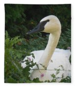 The Silent Trumpet Fleece Blanket