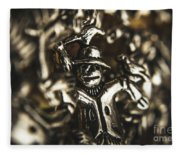 The Silver Strawman Fleece Blanket