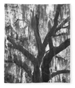 The Silver Tree Fleece Blanket