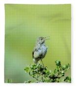 The Singing Birdie  Fleece Blanket