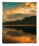 The Skaha Sunrise Fleece Blanket