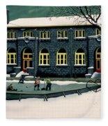 The Skaters Fleece Blanket