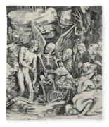 The Skeletons Fleece Blanket