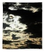 The Sky Speaks Fleece Blanket