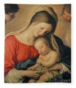 The Sleeping Christ Child Fleece Blanket