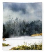 The Sly Fox Fleece Blanket