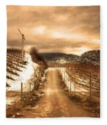The Small Hill Fleece Blanket